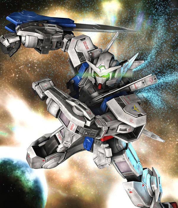 GNY-001 GUNDAM ASTRAEA by Ladav01