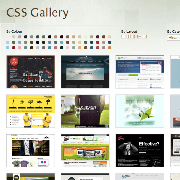 Design Shack - CSS Gallery
