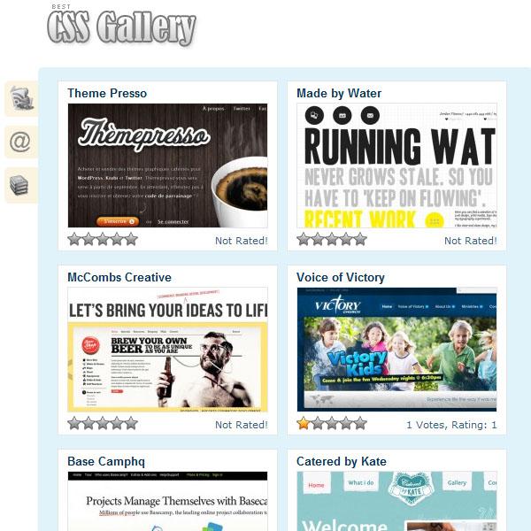Best CSS Gallery