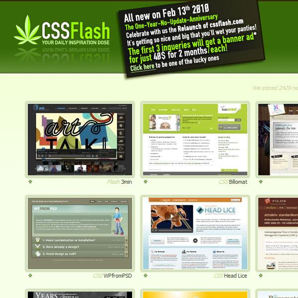 CSS Flash