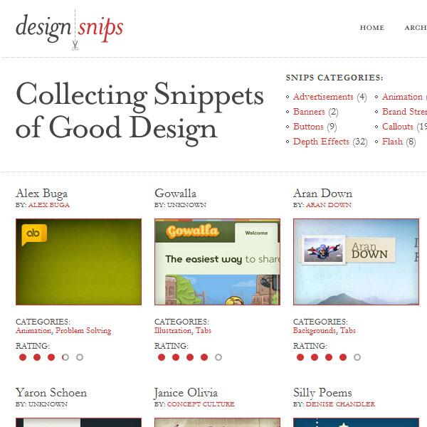 design snips