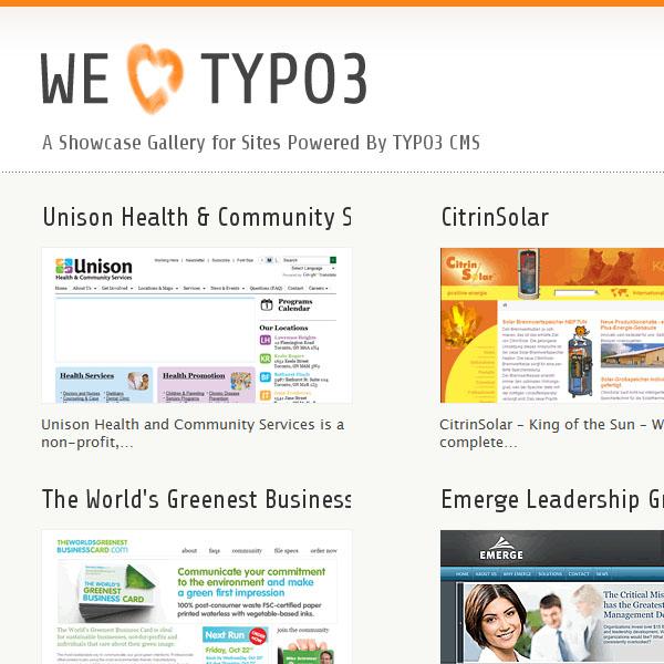 We Love Typo3