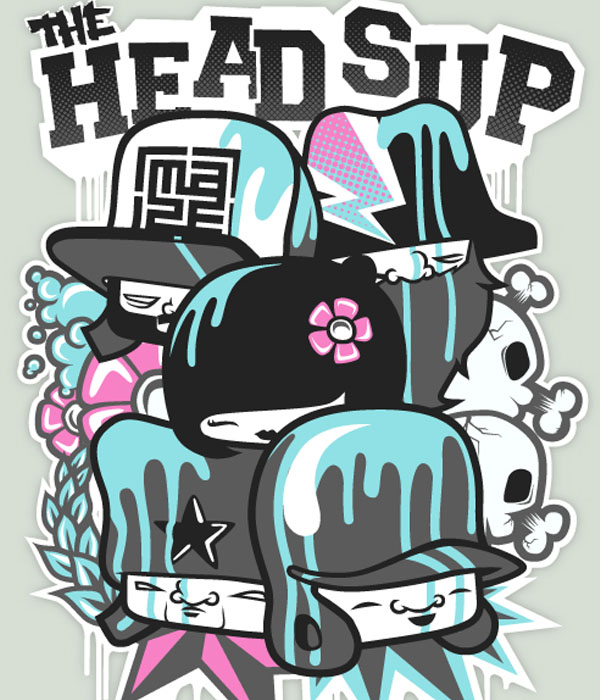 The Headsup Tee by miZter-maZe