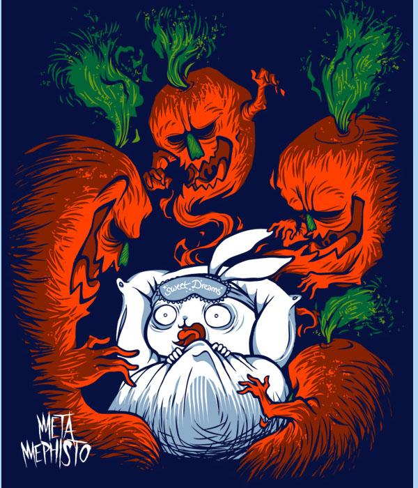 Haunted Rabbit Hole by MetaMephisto