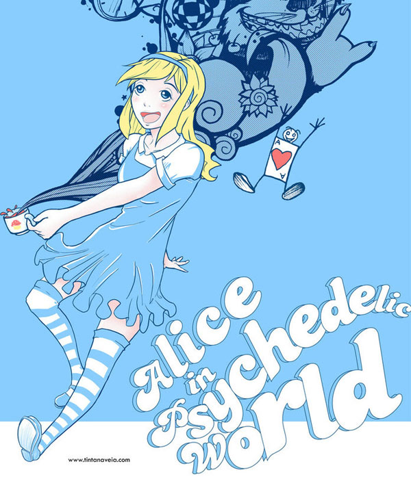 Alice Psy 3.0 by tintanaveia