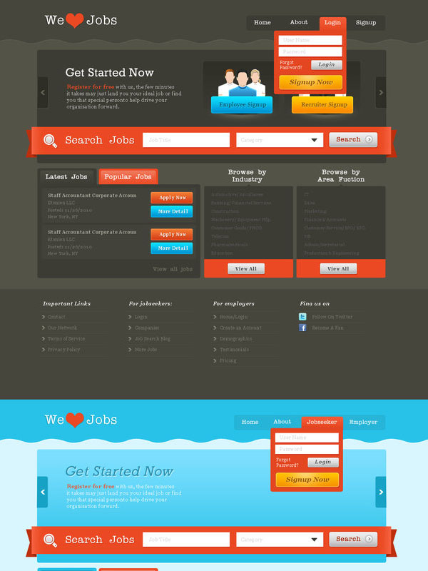 Job Portal - wordpress by prkdeviant