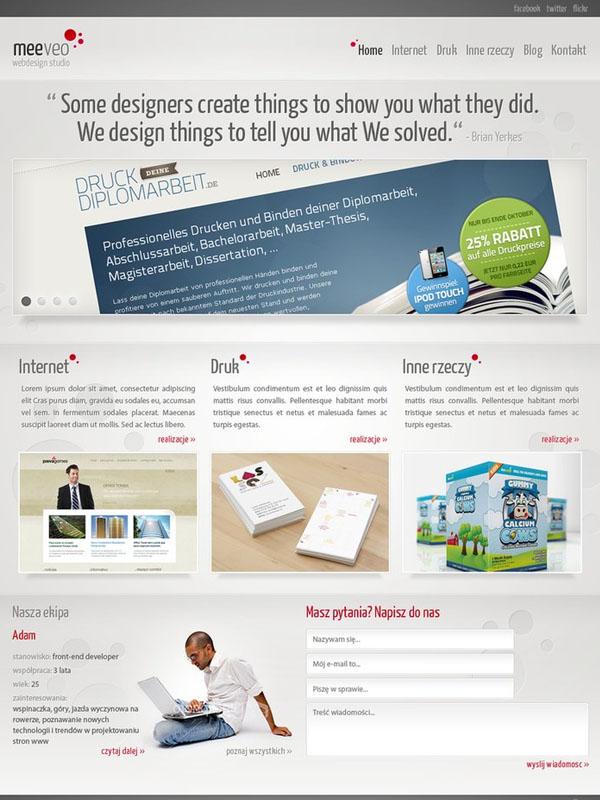 Meeveo - webdesign studio by waterdesign