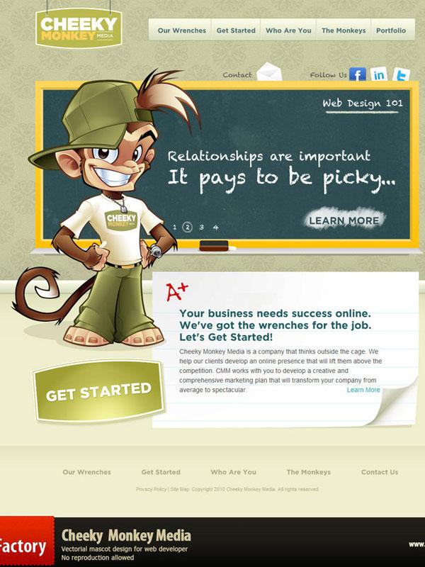 Cheeky Monkey Media by sergitosuanez