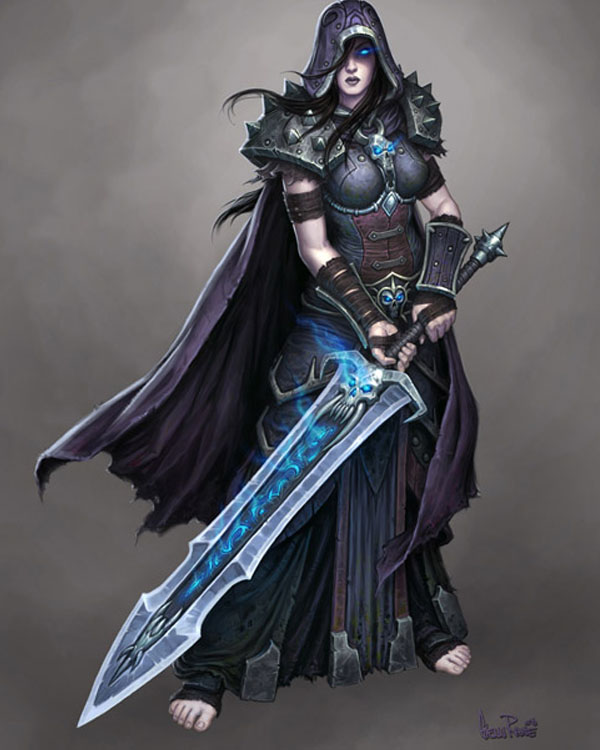 Female Death Knight by Arsenal21