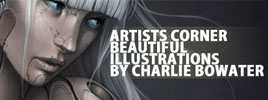 Artists Corner – Beautiful Illustrations by Charlie Bowater