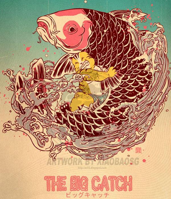 The Big Catch by xiaobaosg