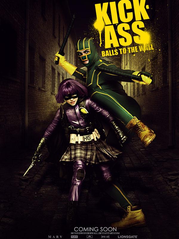 Kick-Ass 2 Movie Poster by beyondwonderwall