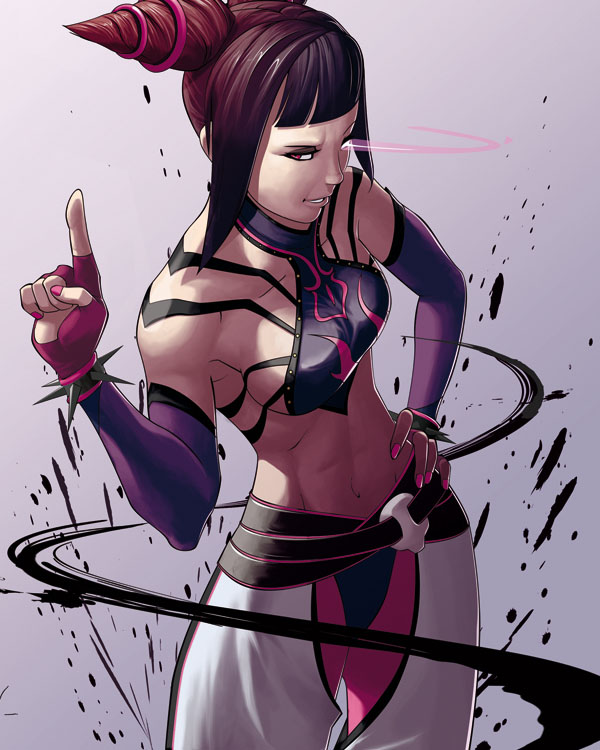 Juri - Super Street Fighter IV by RaphooN