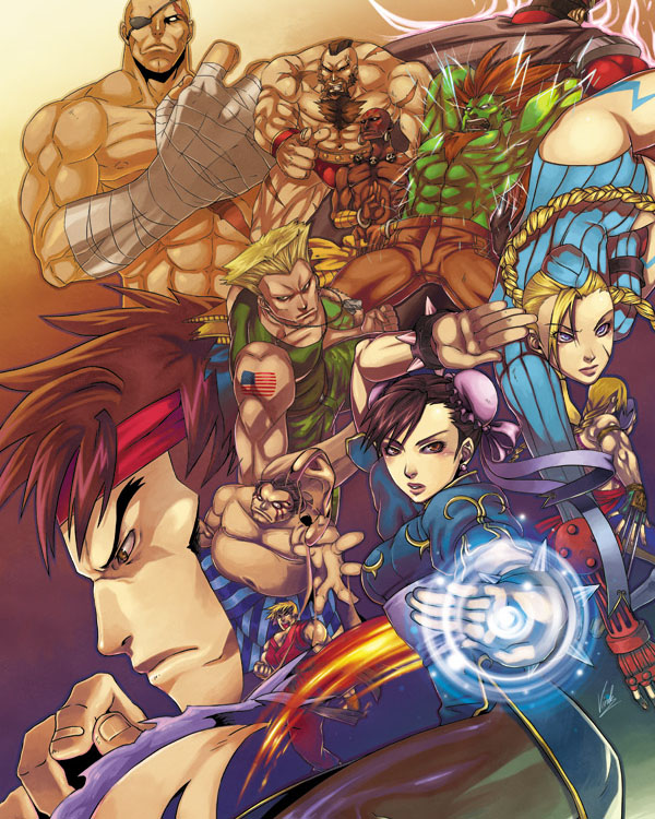 Street Fighter Tribute by virak