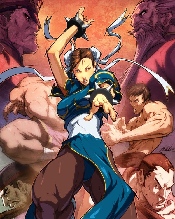 SF Legends Chun-Li 4B by Alvin Lee