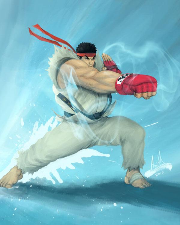 Ryu - Kaze no Kobushi by molee