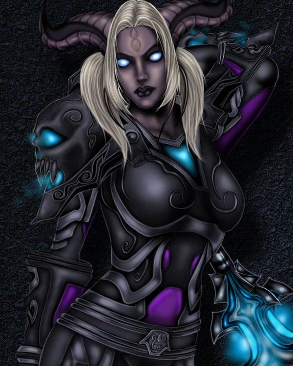 Draenei Warrior by silentkyrie