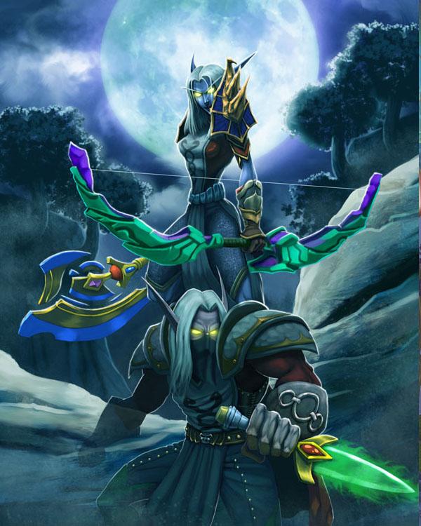 - World of Warcraft - Elves by el-kenshin