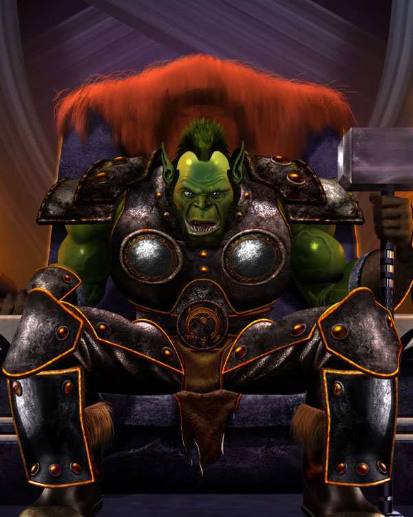 Warcraft, Thrall by LOPEZMICHAEL
