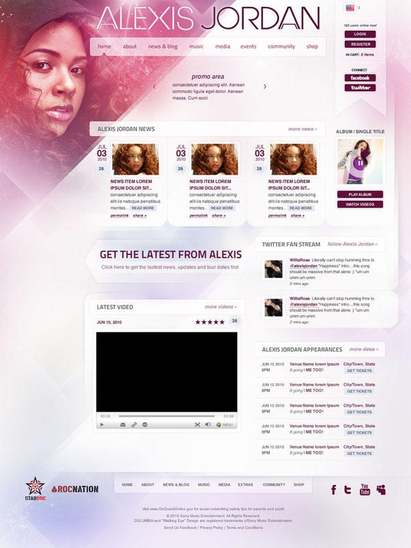 Alexis Jordan - 2nd Version by manya