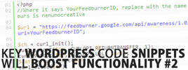 Key WordPress Code Snippets That Will Boost Functionality #2