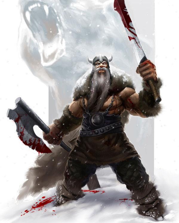 Viking Berserker by SirenD