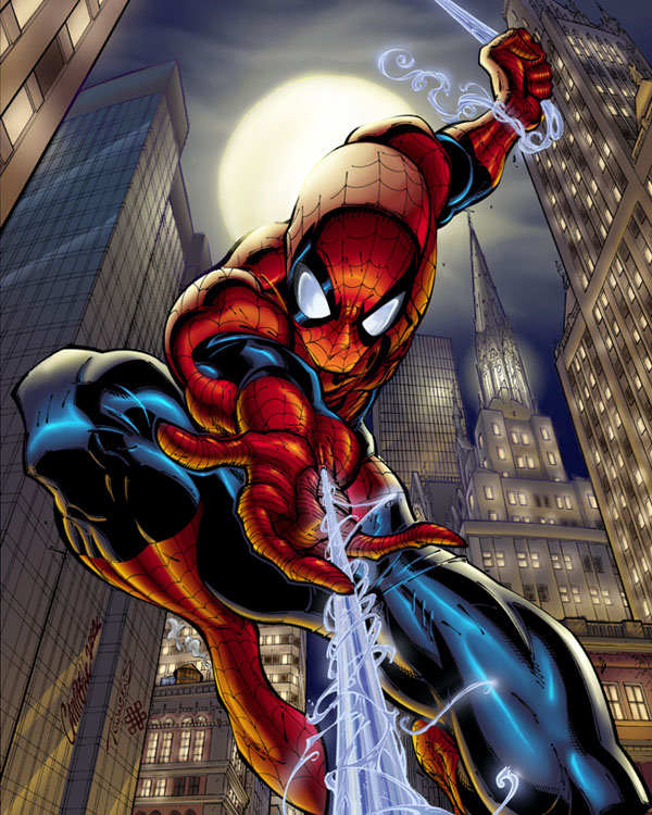From Pencil To Paper, Inspiring Comic Book Art - Spiderman ...