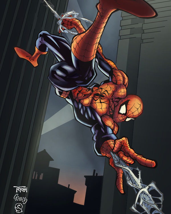 Spiderman by Eddy-Swan