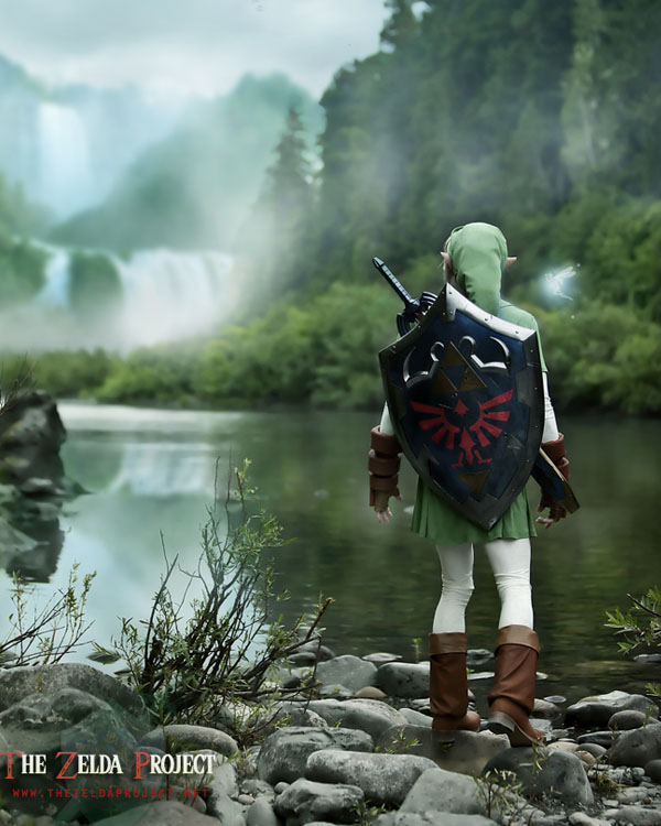 The Zelda Project: Zoras River by Adella