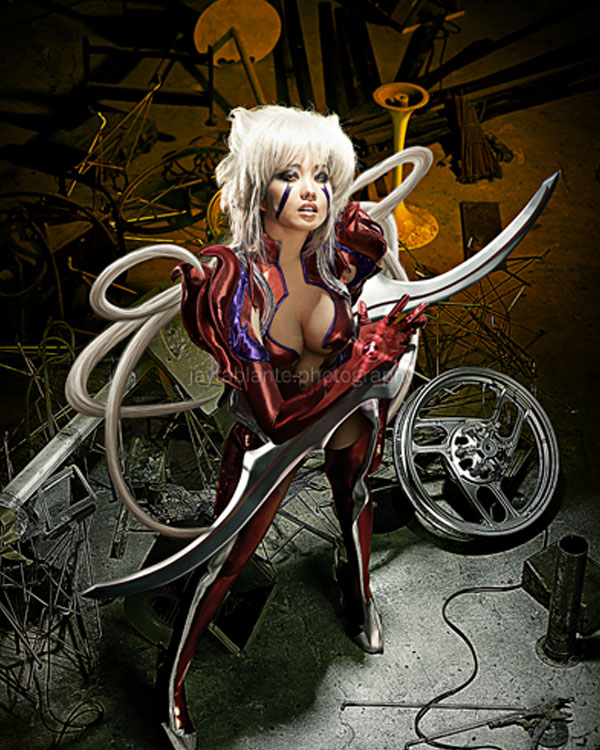 WitchBlade: Amaha Masane by blackmage9