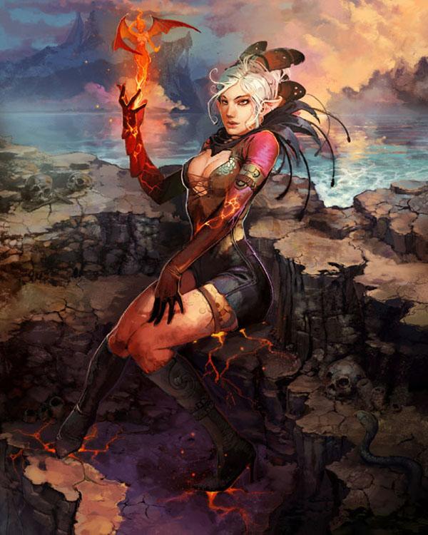 -Fire Spirit- by Bluefley