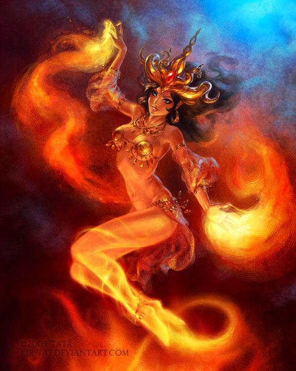 The Fire Dance by kir-tat