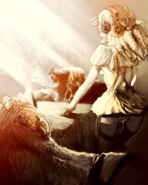 STEAMPUNK FAIRYTALE Goldylocks by Lavah