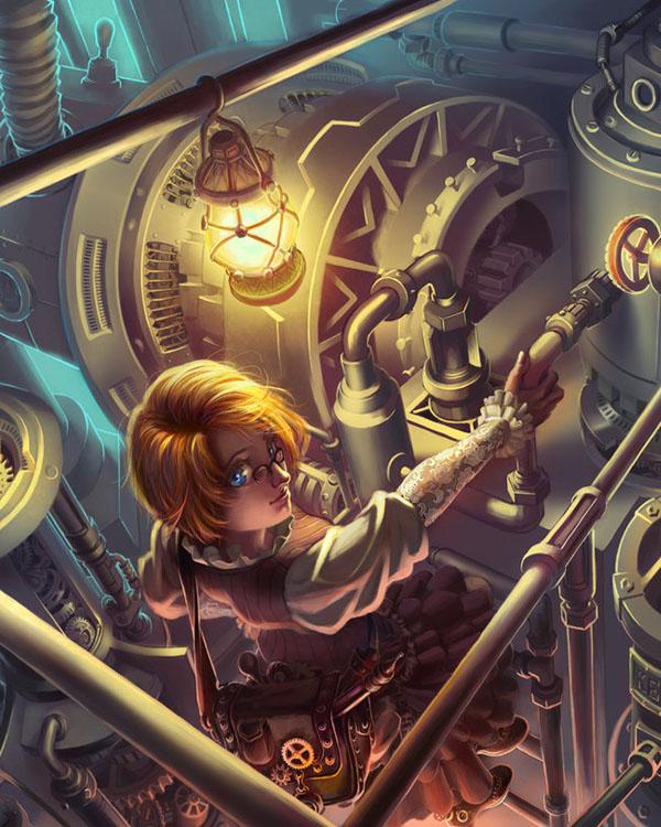 Outstanding Steampunk Inspiration 1 Nenuno Creative