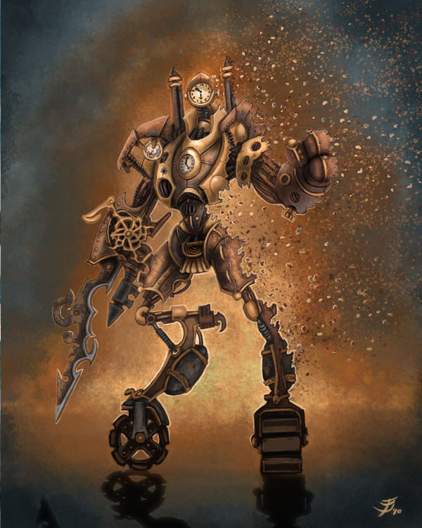 Steampunk concept by justaman78