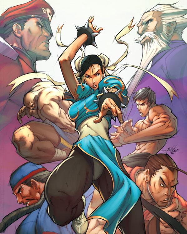 Street Fighter: ChunLi Legends by deffectx & Alvin Lee