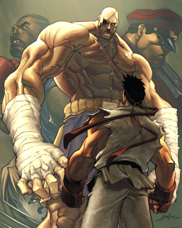 Street Fighter 4 Cover by Alvin Lee & Arnold Tsang