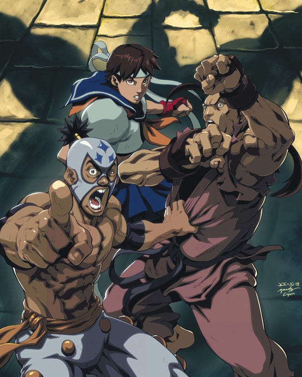 Street Fighter IV 2B by Joe Ng & Espen Grundetjern