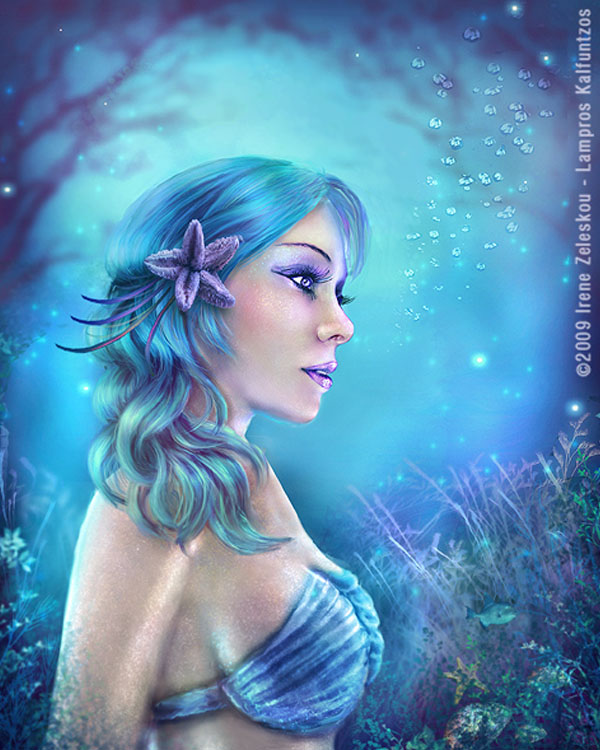 Water Goddess by ftourini & 3ddream