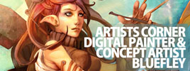 Artists Corner – Digital Painter & Concept Artist Bluefley
