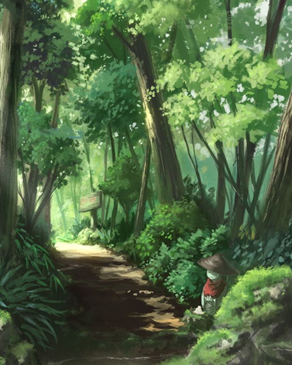 Mountain path by yuichiro-fa