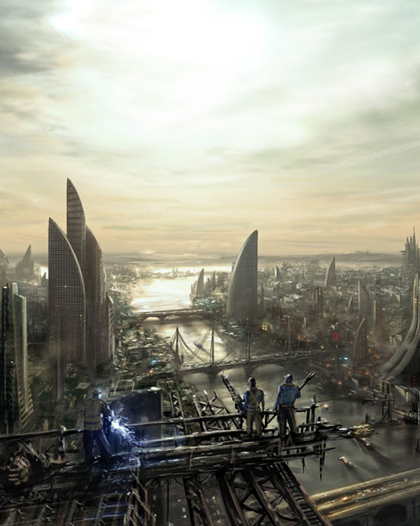 Concept: Irontown by I-NetGraFX