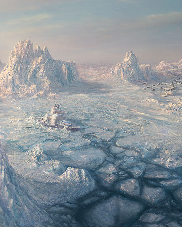 Environment: ICE SCAPE by I-NetGraFX