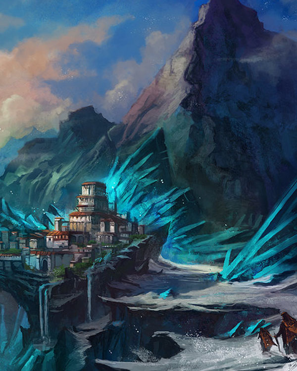 Crystal-Mountains by Nurkhular