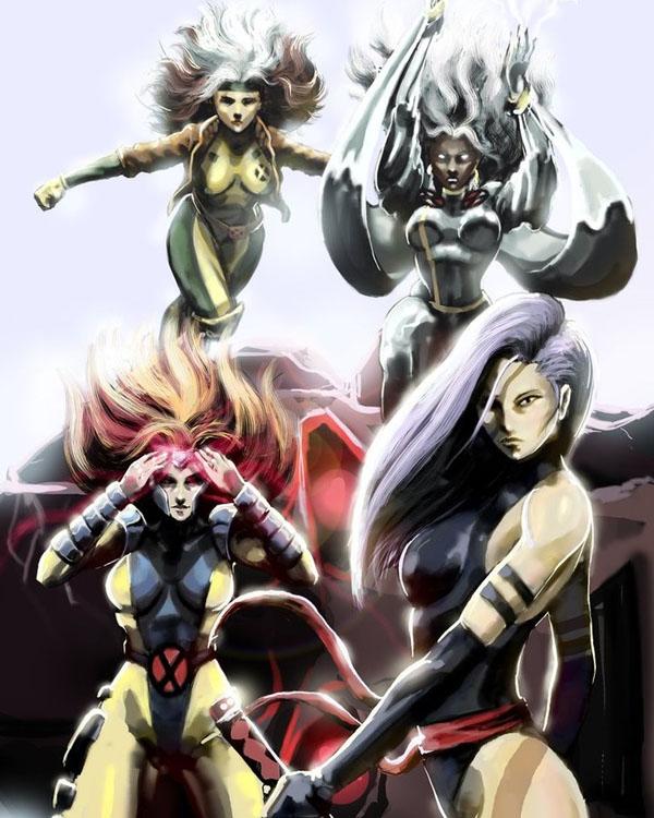 X-Girls by mansarali