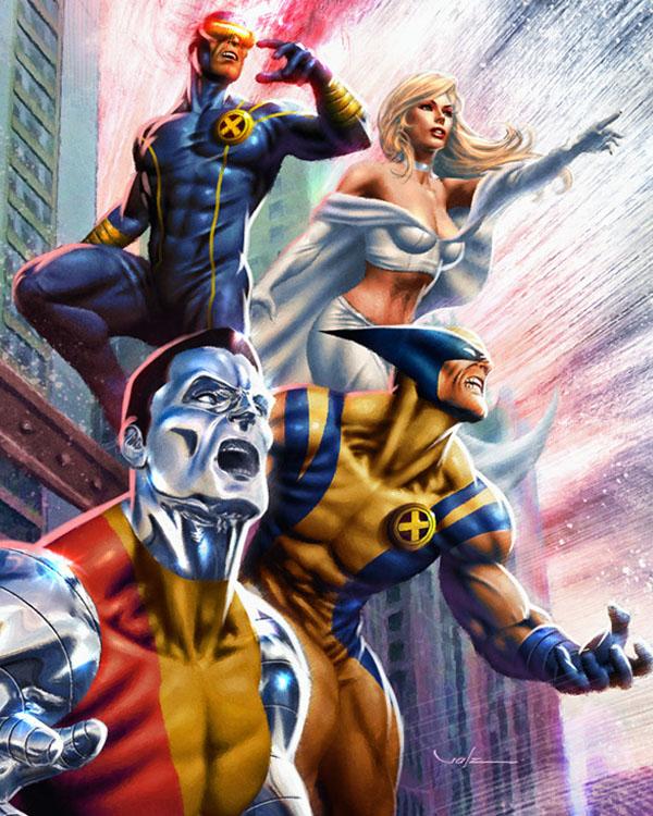 X-Men by Valzonline