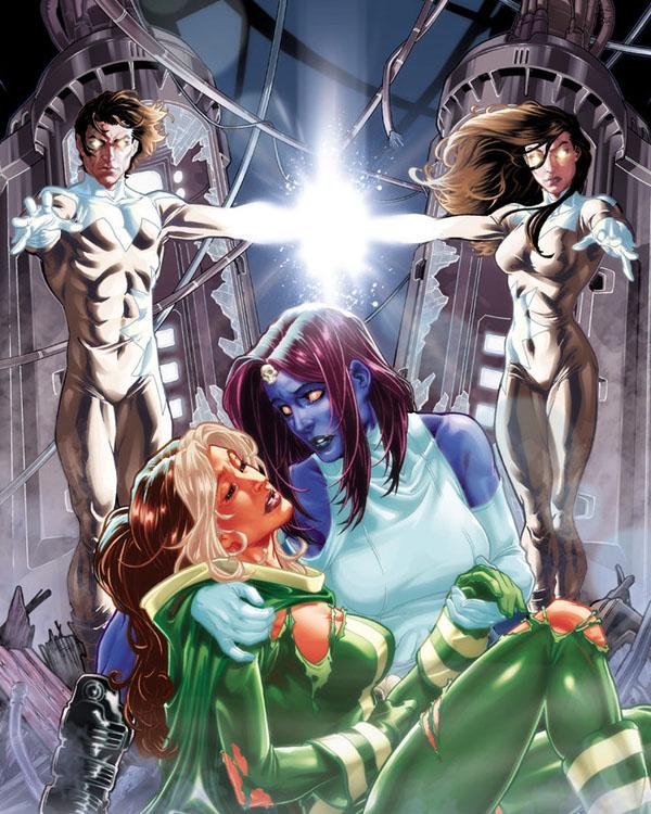 X-Men Annual Cover by diablo2003