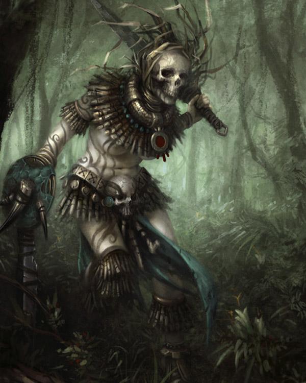 Amazon Warrior by daarken