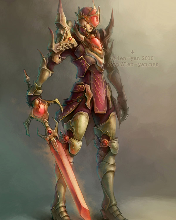 ruby knight by len-yan