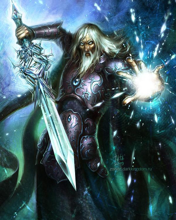Ice Wizard by kir-tat